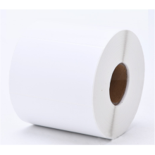 NX041 custom label shipping packaging food color sticker label