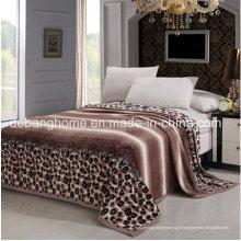 Couvertures de flanen super confortables de polyester de haute qualité 100%