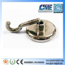 Gancho magnético magnético de la capa Gancho magnético industrial Ganchos magnéticos industriales