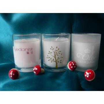 Cheap price for Glass Jar Candle glass craft  candles Scented Candle export to India Wholesale
