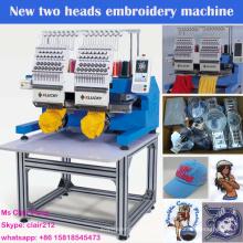 revendedor de máquina de bordar econômico com 2 cabeças 15 cores