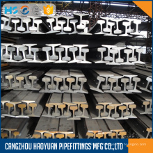Carril de acero ferroviario 55Q Q235 24kg s24