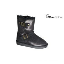 Women′s New Arrival Microfiber Snow Boots with Strap