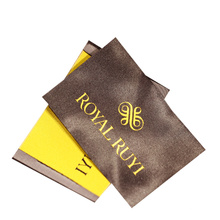 Custom Brand Garment Accessories High Definition Satin Polyester Cloth Woven Tag Neck Main Labels for T-Shirt