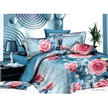 3D Printed Bedding Set Polyester Microfibre Bed Set
