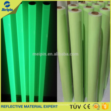 0.8mm Glow in dark PVC leather