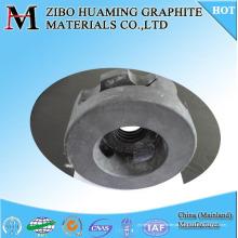Desengraxamento de grafite de carbono Rotor de rotor para fusão