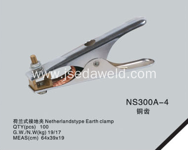 Netherlands type earth clamp NS300A-4