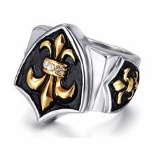 Пользовательских дешевые серебряные выгравированы старинные обещают старый панк кольца для нее