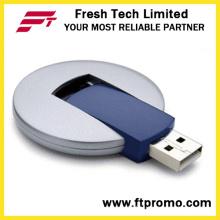 Plástica UFO giratorio USB Flash Drive (D206)
