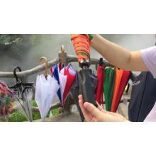 Promotional golf premium logo prints customized printing umbrellas, indonesian button spares for umbrellas