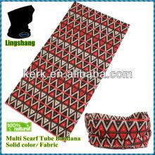 LSB05 Ningbo Lingshang 100% poliéster baisc tamanho é 24 * 48 centímetros pescoço tubo dia de Natal multifuncional headwear