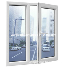 Wanjia PVC Casement Window (WJ-PVC-W015)
