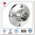 Bride acier inoxydable 316L ASME B16.5 Wn pour raccordement de tuyauterie