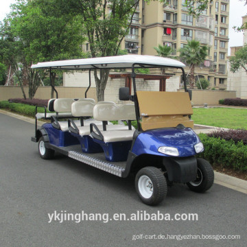 8-Sitz-Fabrik-Direktverkauf Elektro-Golfwagen für Sightseeing, Shuttle-Cart CE-Zertifikat