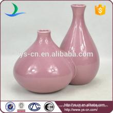 gourd shape handpaint pearlized Chinese vase porcelain