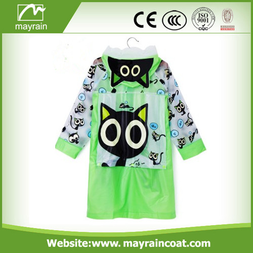 Boys Plastic Raincoat