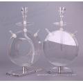 Rotatable round acrylic hookah shisha wholesales