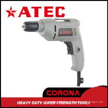 Atec 410W 10mm Taladro eléctrico manual para herramientas (AT7225)