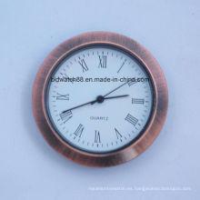 Antiguo redondo pequeño inserto Face relojes 60mm