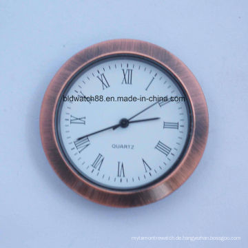 Antique Round Kleine Einlage Gesicht Uhren 60mm