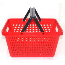 Plastic Handle Supermarket Basket (YD-Z4)