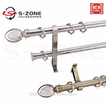 Hot sale 28mm stainless steel curtain rod