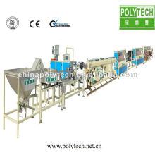 Línea de producción de cinta de riego por goteo de columna PE / máquina