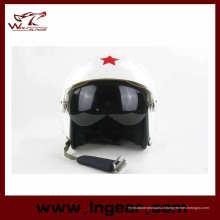 Tático moto capacete capacete piloto capacete de voo com qualidade superior