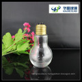 2015 Hot Sale 100ml Bulb Shape Beverage Glass Bottle