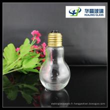 2015 vente chaude 100ml Ampoule forme boisson bouteille en verre
