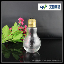 2015 Hot Sale 100ml Bulb Shape Beverage Glass Bottle
