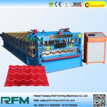 Máquina de prensagem de metal em tijolo de pedra FX