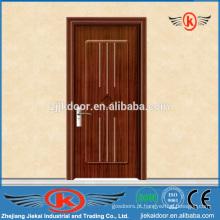 JK-P9050 porta de madeira em PVC com quadro inteiro