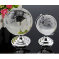 Zarte klare Erde Glas Promotion Geschenk Crystal Terrestrial Globe