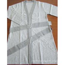 Senhoras ′ Cashmere malha Robe (HM-SW09009)