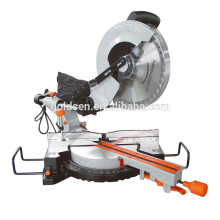Latest 1900w 15A 305mm 12in Slide Compound Miter Saw Aluminium Cutting Electric Industrial Miter Saw