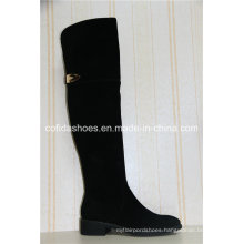 Updated Trendy Comfort Lady Leather Winter Boots