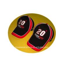Stickerei Mesh Caps oder Sport Cap mit vielen Paspeln