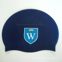 Logo Printed Silicone Swimming Cap