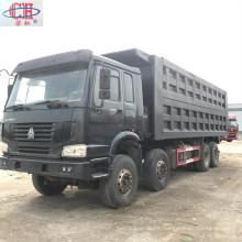 Producto popular HOWO camión volquete usado 8x4