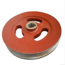 Roda de mineração do trilho do trole do trole do aço de carcaça