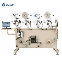 Automatic Roll to Roll Screen Printing & Labeling Machine /FOB Shanghai