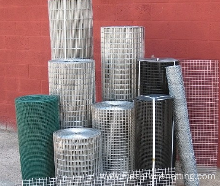 Hot-dripped Galvanized Weided Wire Mesh Panel