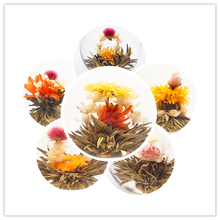 100% Handmade Top Quality Chinese Silver Needle Artistic Flower Blooming Tea in 17 Different Styles