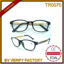 Tr0070 na moda de alta qualidade Tr90 óculos de leitura