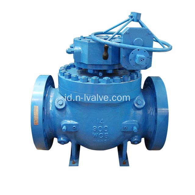 Gear Operated Top Masukkan Ball Valve