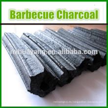 Briqueta de carbón de leña dura de madera hecha a máquina de 20-40 milímetros