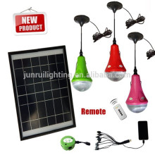 solar led flash iluminación de emergencia (JR-SL988B panel de 9W)