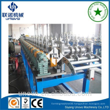 nine fold profile rack making machine window steel